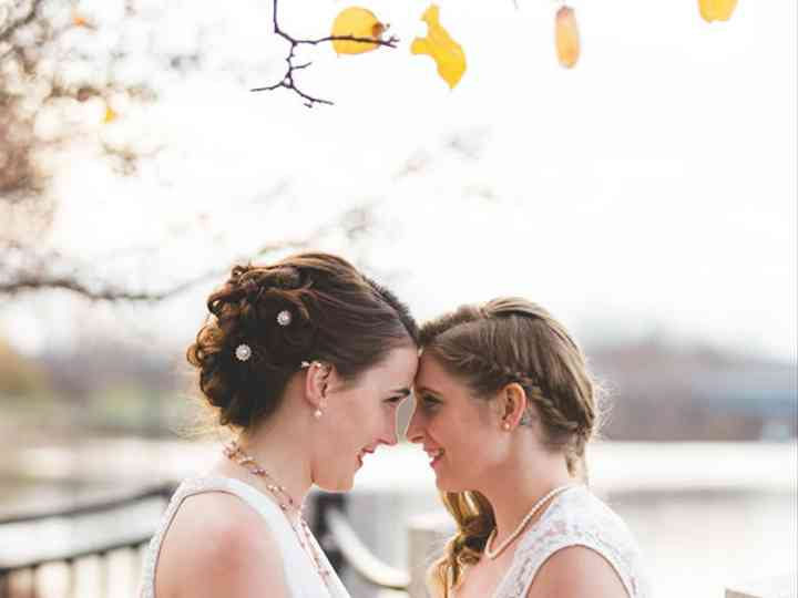 The wedding of Emily and Danielle