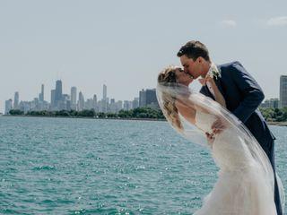 The wedding of Madeline and Luke