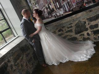 The wedding of Cierra and Matt