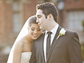 The wedding of Ian and Abby