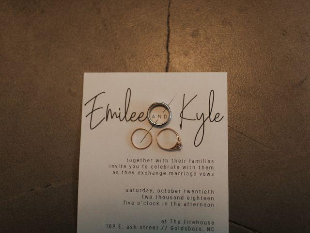 Kyle and Emilee's Wedding in Goldsboro, North Carolina 1