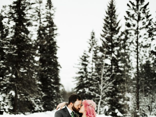Curtis and Caitlin's Wedding in Kalispell, Montana 2