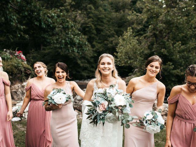 Jared and Madison's Wedding in Millers Creek, North Carolina 9