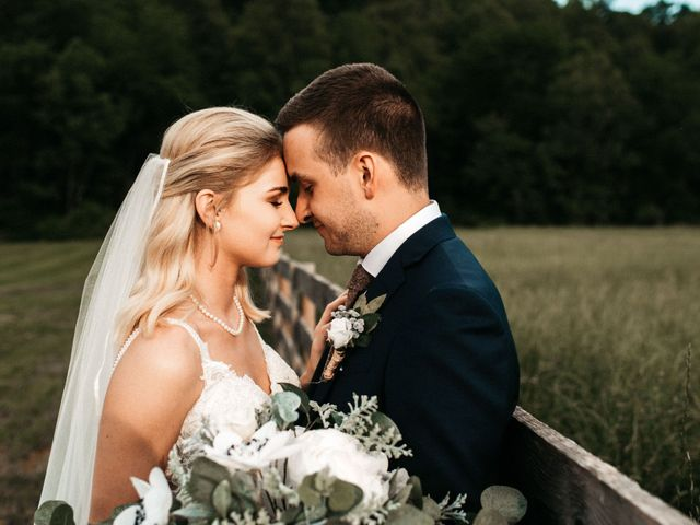 Jared and Madison's Wedding in Millers Creek, North Carolina 11