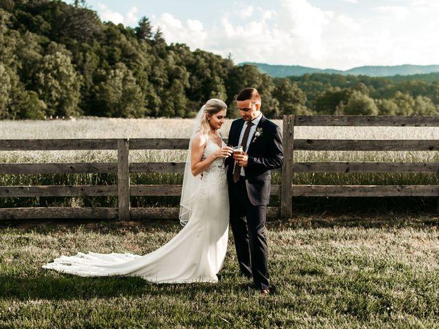 Jared and Madison's Wedding in Millers Creek, North Carolina 12