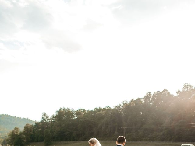 Jared and Madison's Wedding in Millers Creek, North Carolina 13