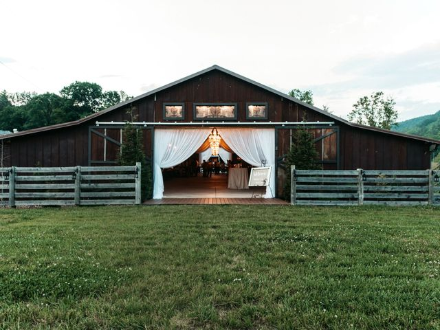Jared and Madison's Wedding in Millers Creek, North Carolina 15