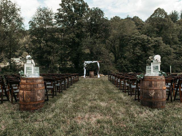 Jared and Madison's Wedding in Millers Creek, North Carolina 18