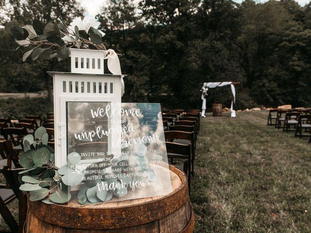 Jared and Madison's Wedding in Millers Creek, North Carolina 14