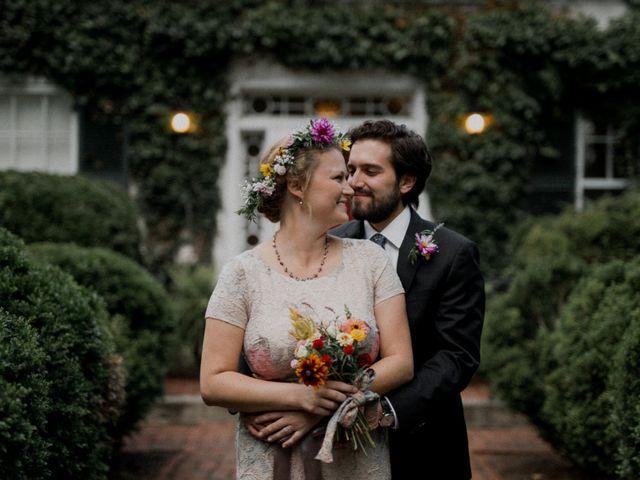 The wedding of Elizabeth and George