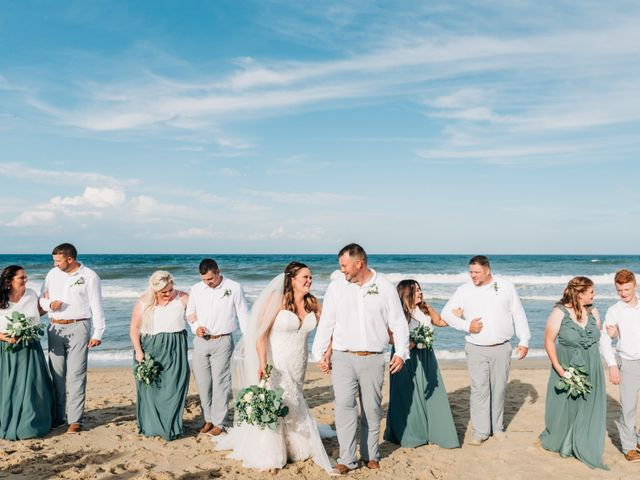 Ashely and Jason's Wedding in Kitty Hawk, North Carolina 45