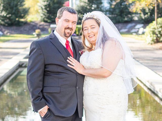 The wedding of Angela and Robert