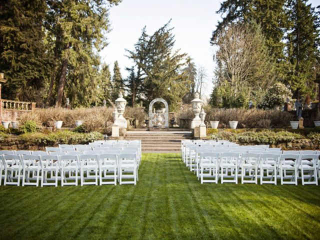 Abby and Ian's Wedding in North Lakewood, Washington 8
