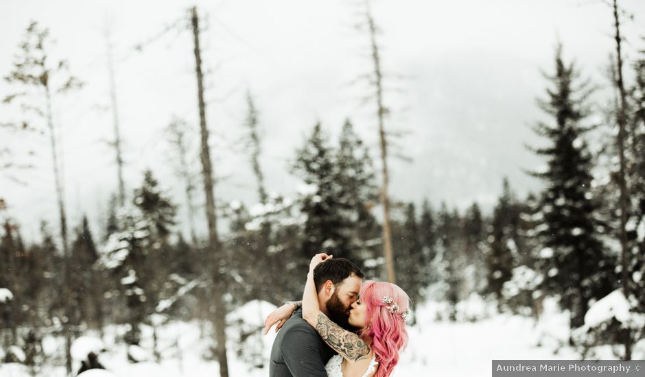 Curtis and Caitlin's Wedding in Kalispell, Montana