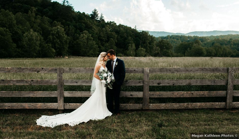 Jared and Madison's Wedding in Millers Creek, North Carolina