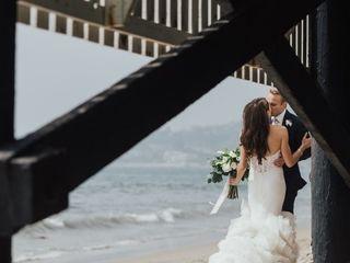 Amber and Robert's Wedding in Malibu, California 10