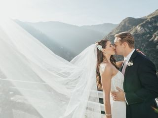 Amber and Robert's Wedding in Malibu, California 15