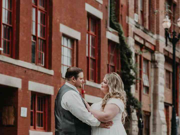 The wedding of Alexandra  and Andrew