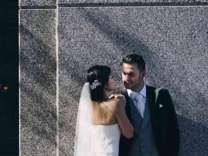The wedding of Adam and Deborah