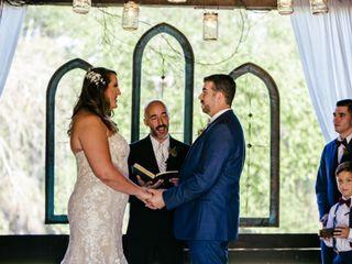 The wedding of Christina and John-Michael 1