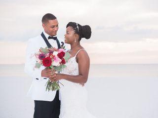 The wedding of Tumeka and Les