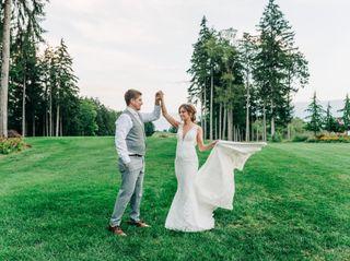 The wedding of Chris and Cheryl