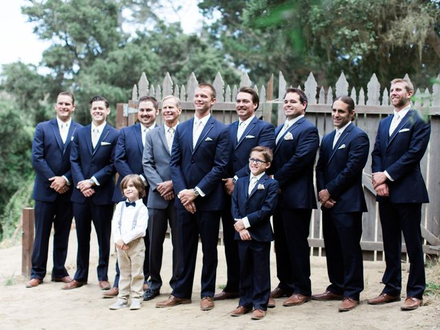 Cammy and Kurtis's Wedding in Cambria, California 15