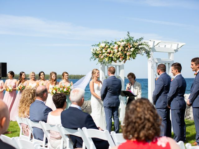 Katie and Marcus's Wedding in Baileys Harbor, Wisconsin 59