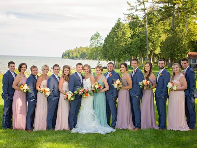 Katie and Marcus's Wedding in Baileys Harbor, Wisconsin 73