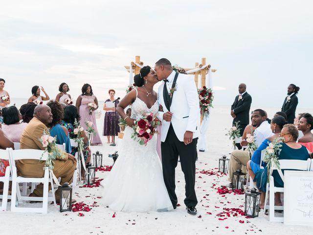 Les and Tumeka's Wedding in Saint Petersburg, Florida 29