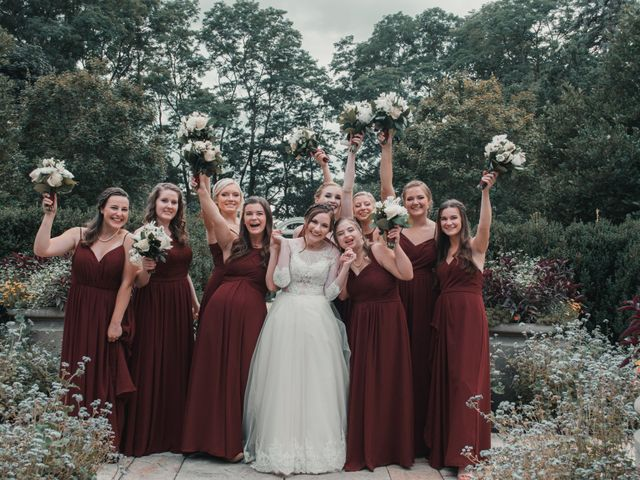 Sarah and Caleb's Wedding in Wheaton, Illinois 4