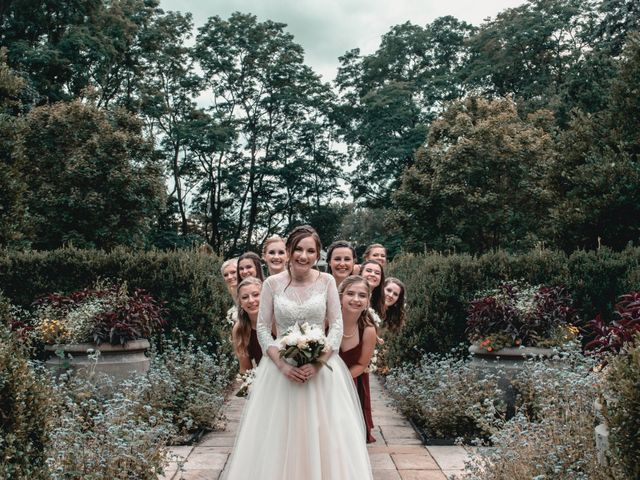 Sarah and Caleb's Wedding in Wheaton, Illinois 5