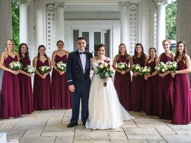Sarah and Caleb's Wedding in Wheaton, Illinois 15