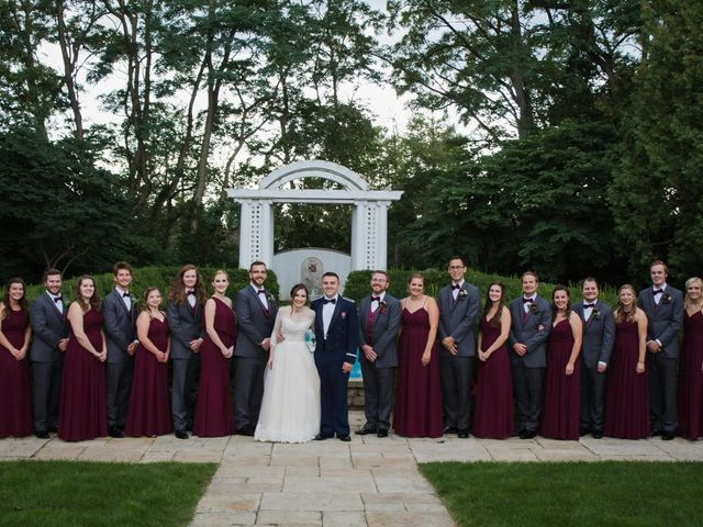Sarah and Caleb's Wedding in Wheaton, Illinois 24
