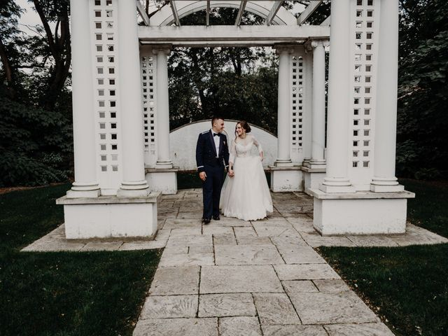 Sarah and Caleb's Wedding in Wheaton, Illinois 34