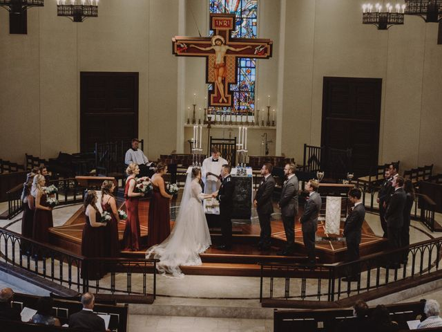 Sarah and Caleb's Wedding in Wheaton, Illinois 63