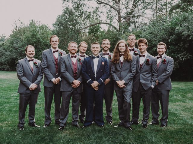 Sarah and Caleb's Wedding in Wheaton, Illinois 64