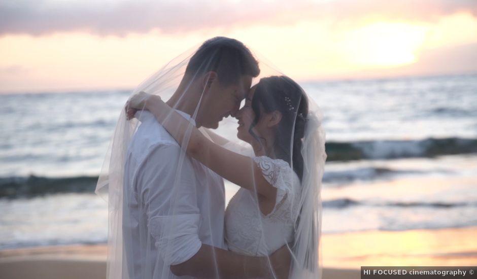 Chao and Angela's Wedding in Haiku, Hawaii