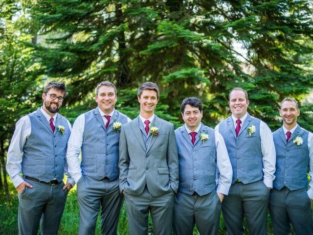 Molly and Brandon's Wedding in Bigfork, Montana 5