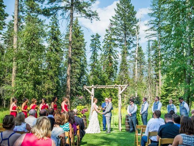 Molly and Brandon's Wedding in Bigfork, Montana 7