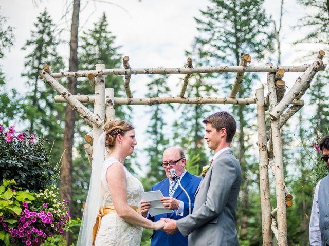 Molly and Brandon's Wedding in Bigfork, Montana 8