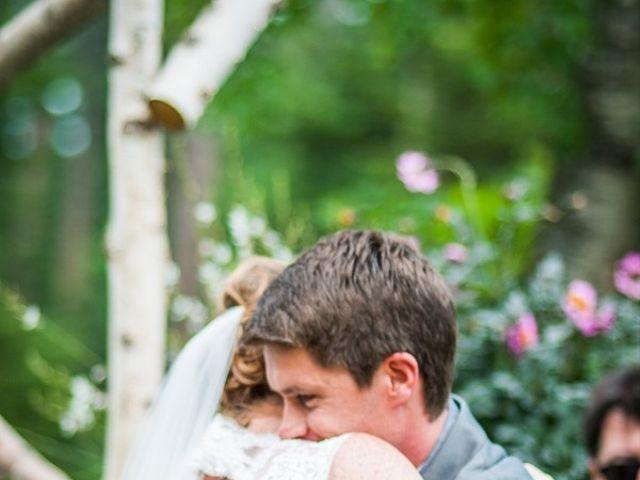 Molly and Brandon's Wedding in Bigfork, Montana 10
