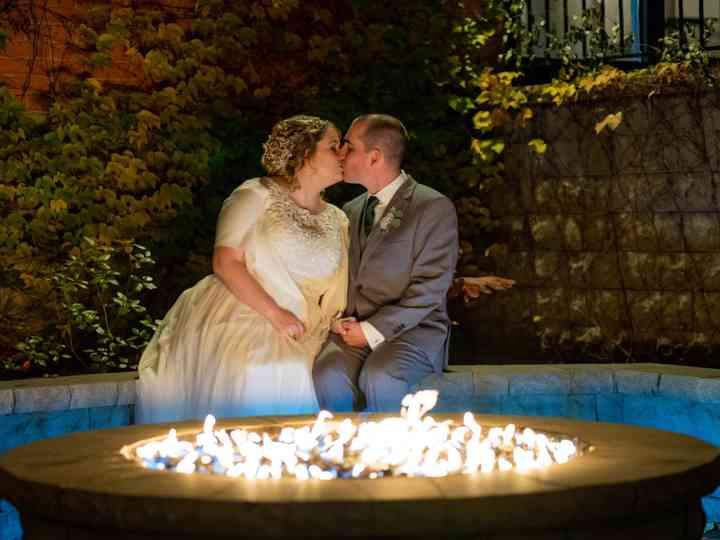 The wedding of Marshall and Jennifer