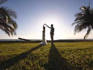 The wedding of E.J. and Nicole