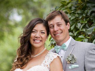 The wedding of Alec and Tina