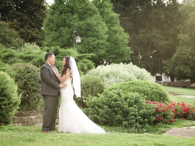 The wedding of Joshua and Narcy
