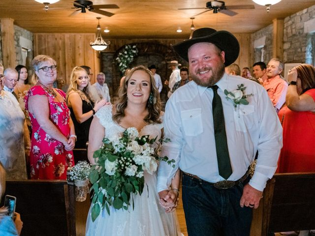 The wedding of JT Bowman and Brooke Bowman