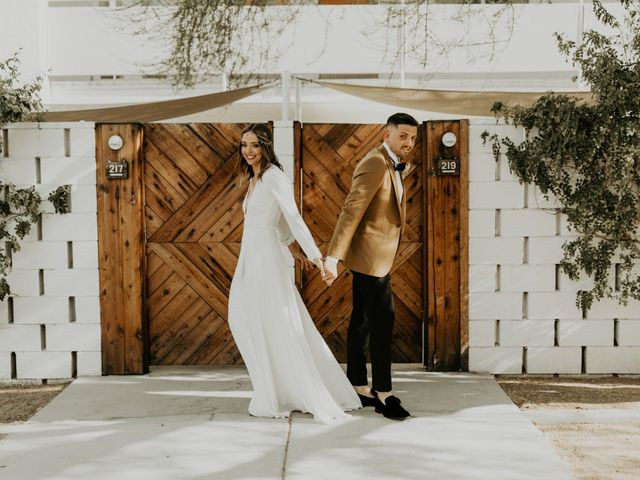 Pat and Shera's Wedding in Palm Springs, California 9