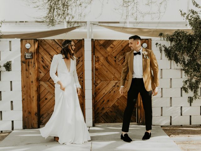 Pat and Shera's Wedding in Palm Springs, California 10