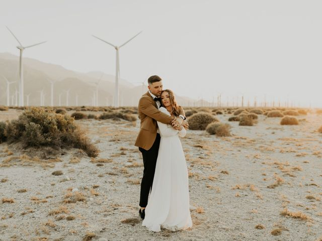 Pat and Shera's Wedding in Palm Springs, California 36